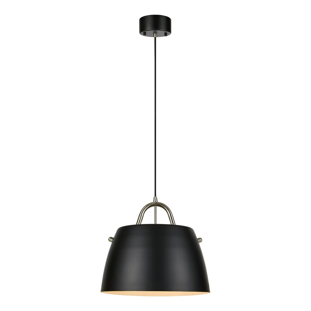 Czarna lampa wisząca Markslöjd Spin Pendant Black