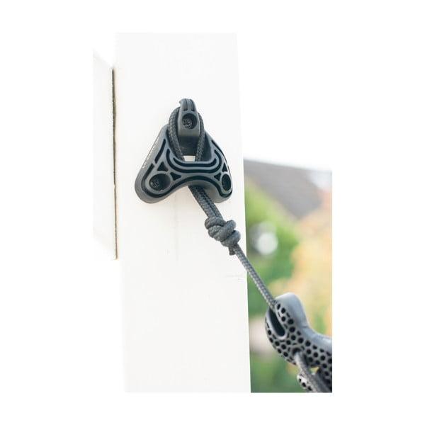 Uniwersalny system na  powieszenie hamaka (między drzewami i ścianą)