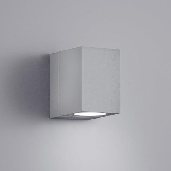 Kinkiet zewnętrzny Tiber Titanium, 10 cm