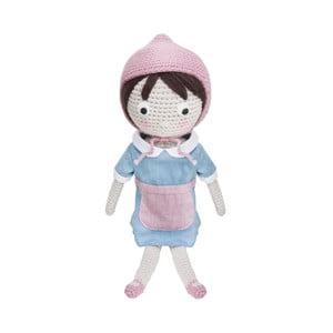 Szydełkowa lalka Sebra Crochet Doll Farm Jenny