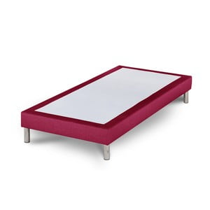 Różowe łóżko Stella Cadente Sommier, 90x200 cm