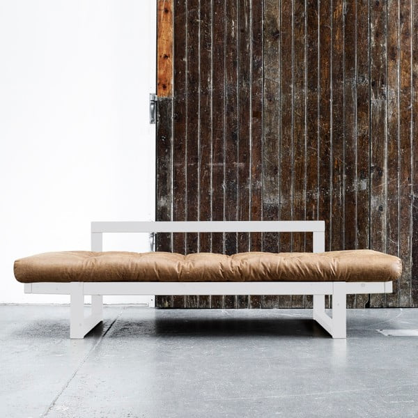 Sofa Karup Vintage Edge Natural/Cognac
