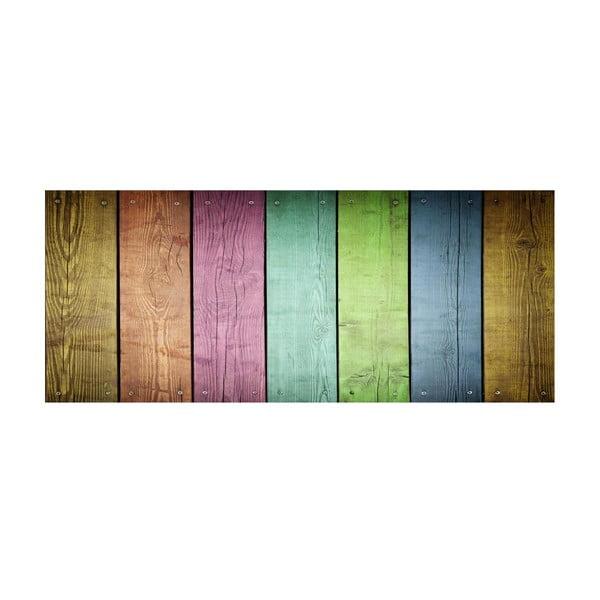 Winylowy dywan Cocina Tablas de Colores, 50x120 cm
