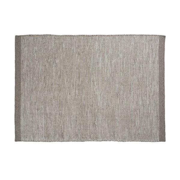 Dywan wełniany Asko Light Grey, 140x200 cm