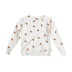 Biała bluza damska  Snurk Winternuts, S