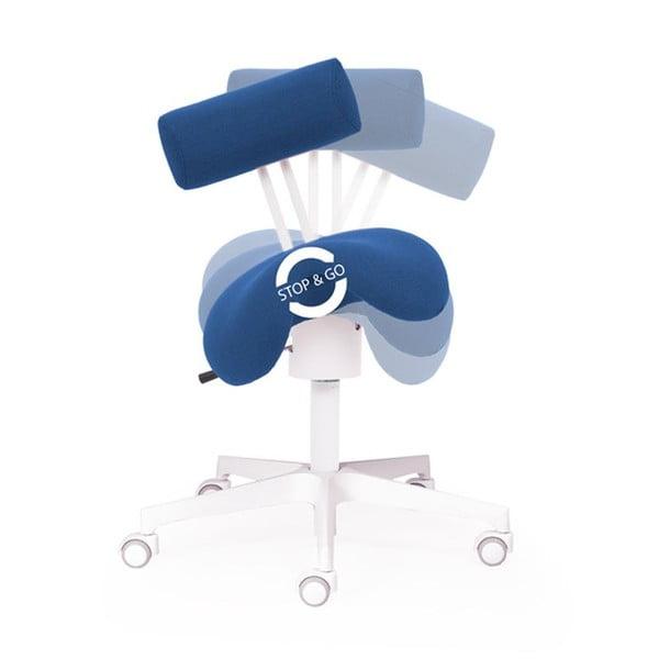 Krzesło biurowe Ergo Flex WT, niebieskie