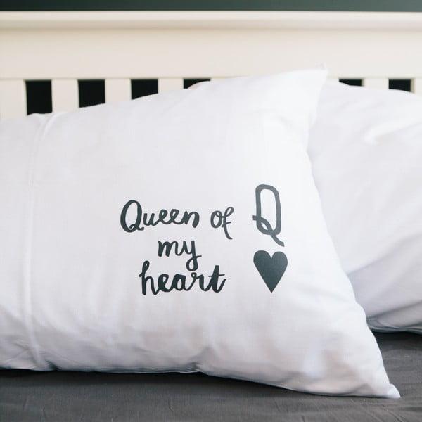 Poszewka na poduszkę Queen Of My Heart, 50x70 cm