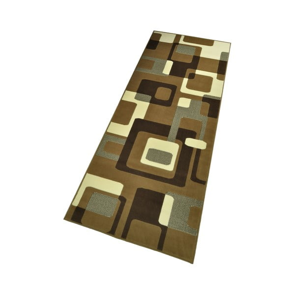 Brązowy dywan Hanse Home Hamla Retro, 80x200cm