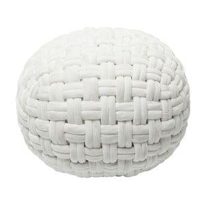 Biały puf Kare Design Olivio