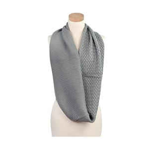 Szalik Romantic Grey