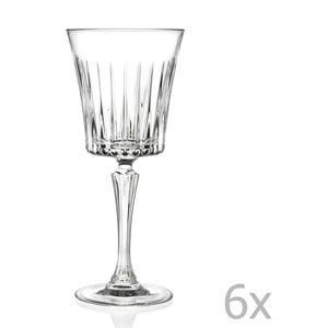 Zestaw 6 kieliszków do wina RCR Cristalleria Italiana Coco