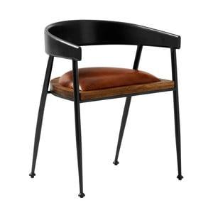 Krzesło skórzane Fuhrhome Sydney
