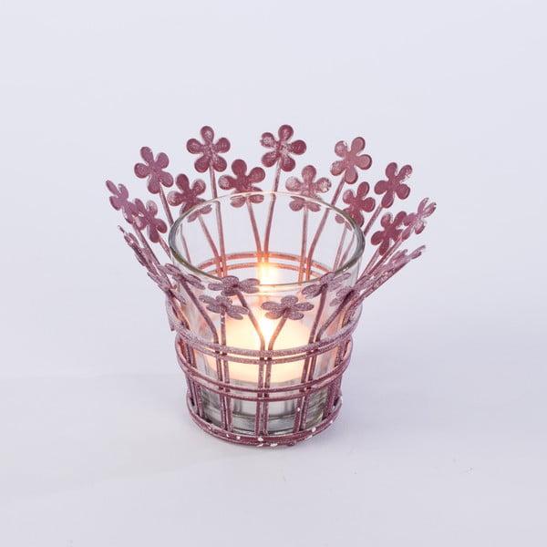 Świecznik Votive 12 cm, fioletowy