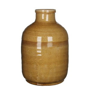 Wazon ceramiczny Abbey Ochre, 45x30 cm