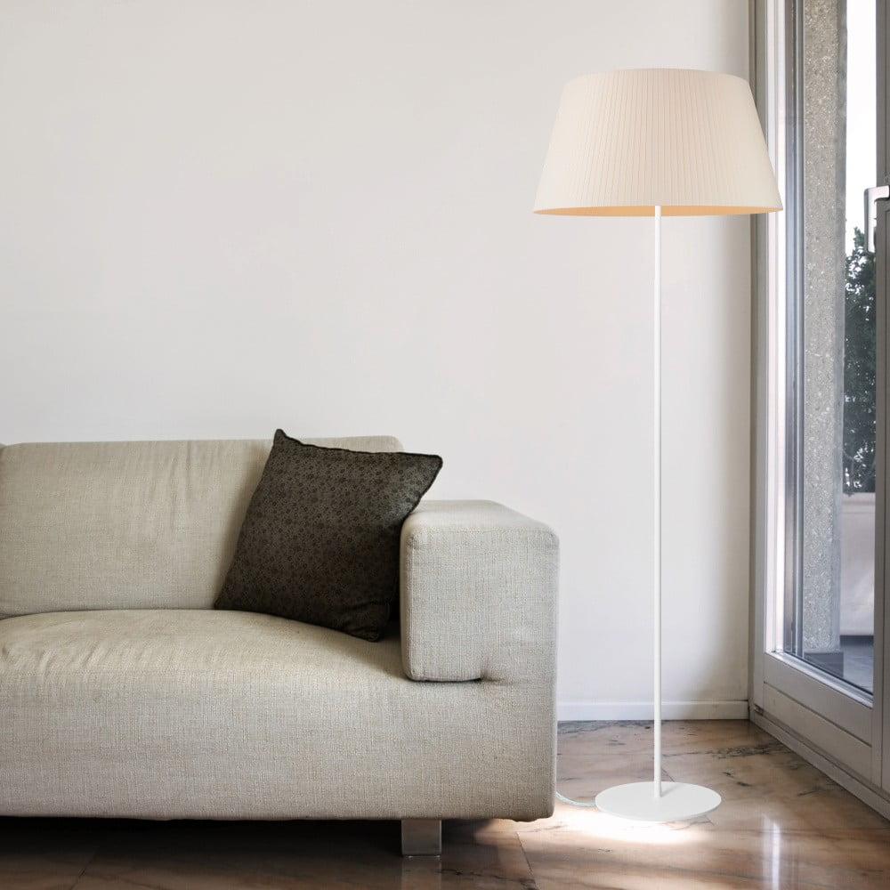 Beżowa lampa stojąca Sotto Luce KAMI Elementary L 1F