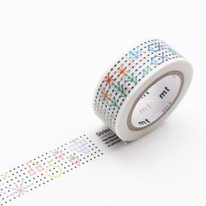 Taśma dekoracyjna washi MT Masking Tape String