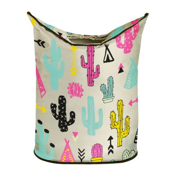 Kosz na bieliznę Cactus And Teepee