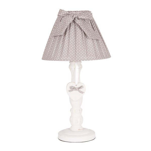 Lampa stołowa Grey Bow