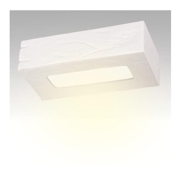Żyrandol ceramiczny Cegla, biały
