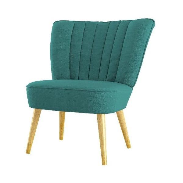 Fotel Angie, niebieski
