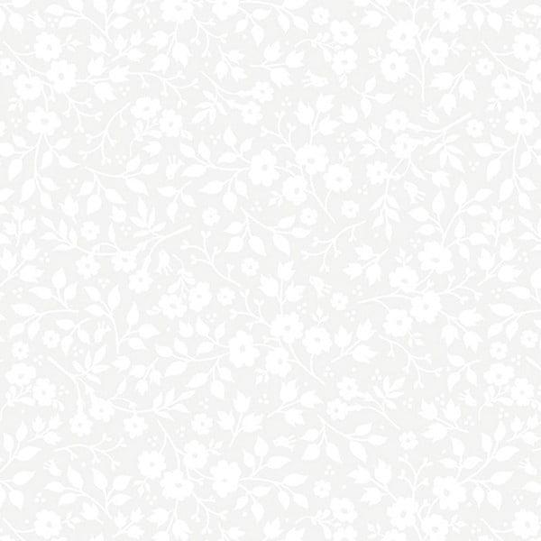 Tapeta Pip Studio Brian Yates, 0,52x10 m, biała