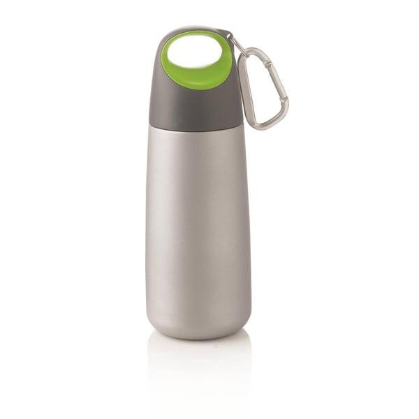 Butelka Mini Bopp z karabińczykiem, zielona