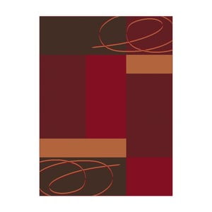 Czerwony dywan Hanse Home Prime Pile, 120x170 cm