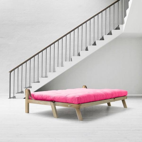Sofa rozkładana Karup Poetry Clear Iacquered/Magenta/Amarillo