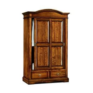 Szafa drewniana z 2 przesuwnymi drzwiami Castagnetti Noce