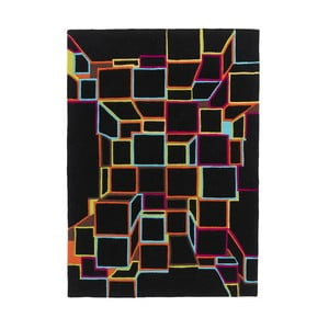 Dywan HK Black, 120x170 cm