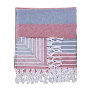 Ręcznik hammam Pestemal Red Blue
