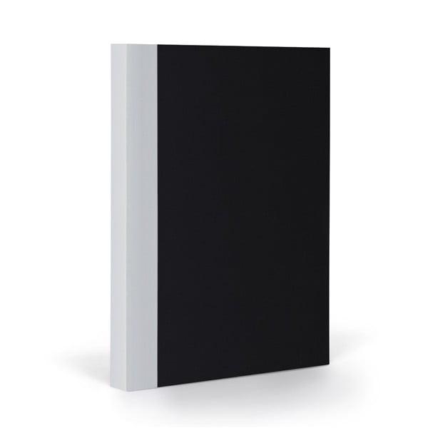 Notes FANTASTICPAPER A5 Black/Coolgrey, w kratkę