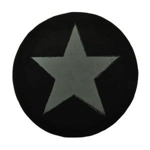 Czarny dywan dziecięcy Hanse Home Star, ⌀140cm