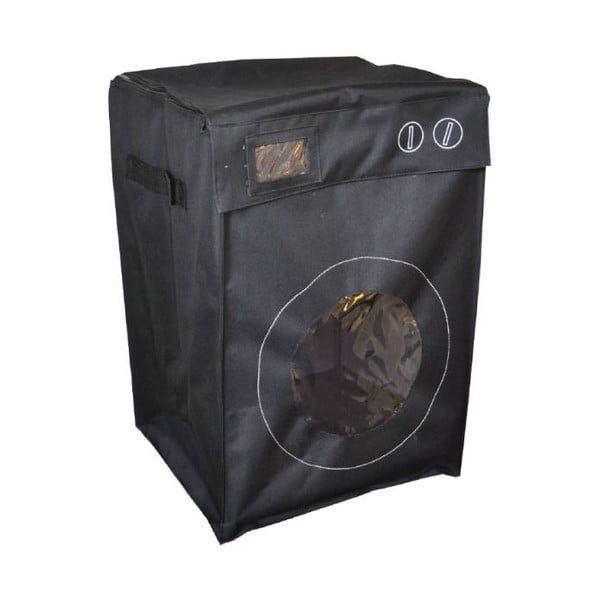 Kosz na pranie w kształcie pralki