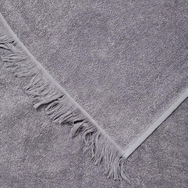 Zestaw 8 szarych ręczników i ręczników kąpielowych Casa Di Bassi Bath