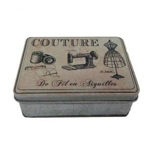Pudełko na przybory do szycia Couture Grey
