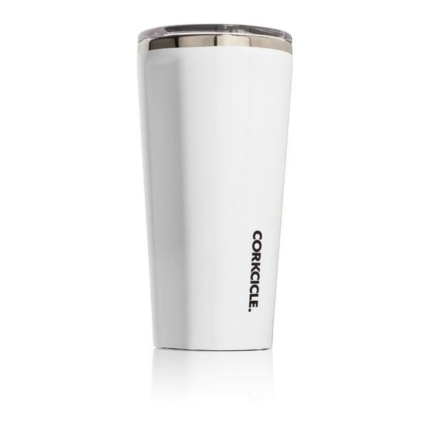 Biały kubek termiczny Corkcicle Tumbler, 260 ml