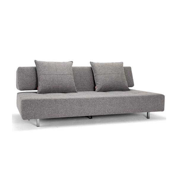 Szara sofa rozkładana Innovation Long Horn