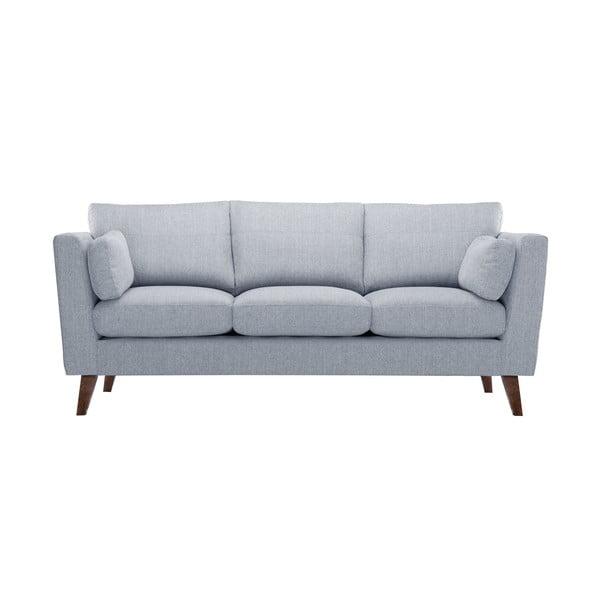 Zestaw fotela i 2 sof dwuosobowej i trzyosobowej Elisa, szare