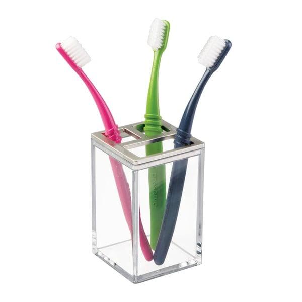 Kubek na szczoteczki do zębów InterDesign Clarity