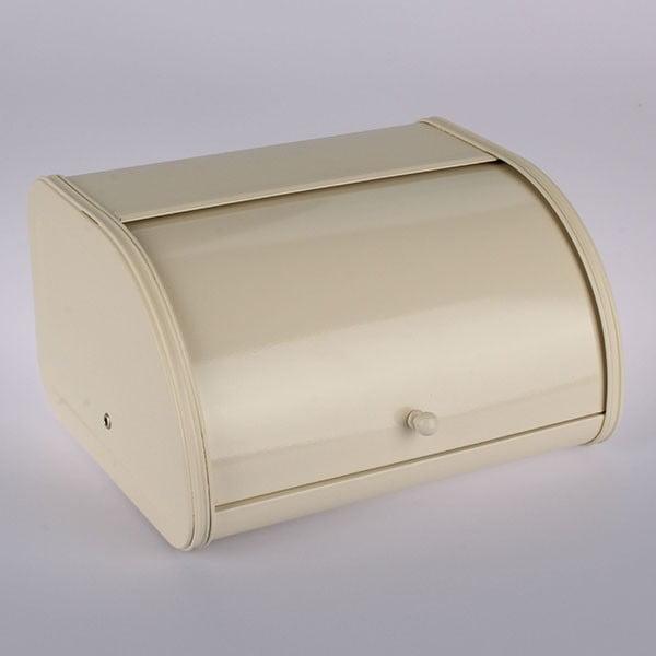 Blaszany chlebak Creme, 30x17x25,5 cm