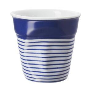 Filiżanka na espresso Froisses 8 cl, niebiesko-biała