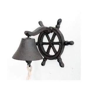 Żeliwny dzwonek ścienny Sea, ciemny