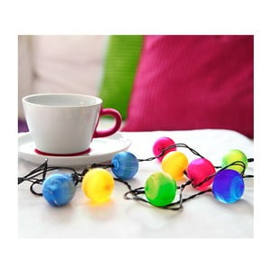 Girlanda świetlna LED Best Season Colour Balls, 10 lampek