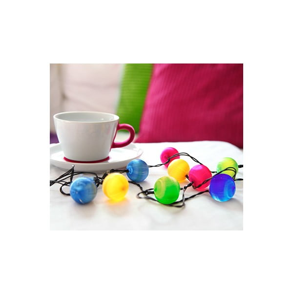Girlanda świetlna LED Best Season Colour Balls, 10 lampek