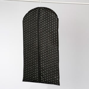Czarny pokrowiec na ubrania Compactor Garment Black, 100 cm