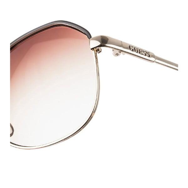 Męskie okulary przeciwsłoneczne Guess GU6775-GLD34