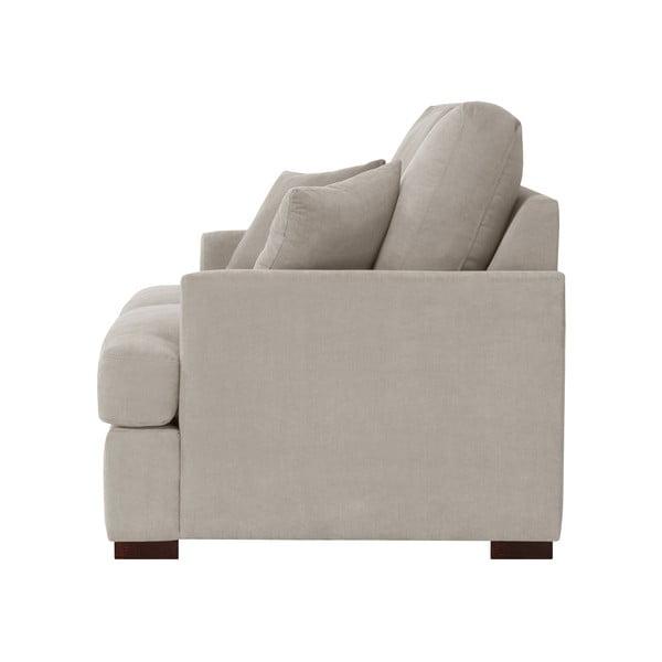 Sofa trzyosobowa Jalouse Maison Irina, taupe