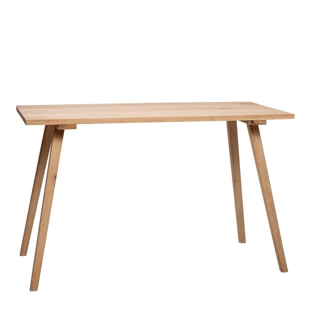 Stół z drewna dębowego Hübsch Keld, 150x65 cm