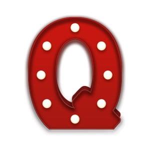 Światło dekoracyjne Carnival Q, czerwone